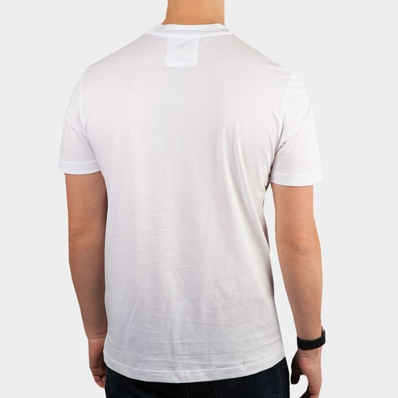 Emporio Armani Mens White Essential Logo T-Shirt main image