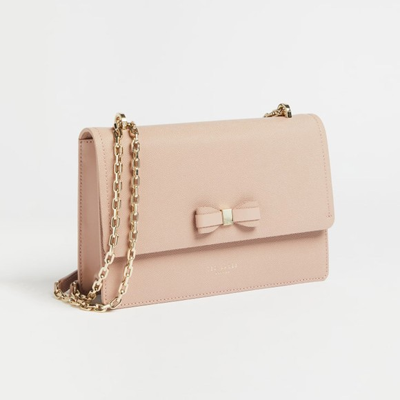 Ted Baker Womens Pink Arttie Bow X-Body Bag