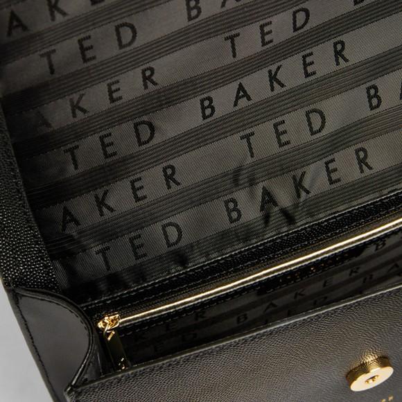 Ted Baker Womens Black Arttie Bow X-Body Bag main image
