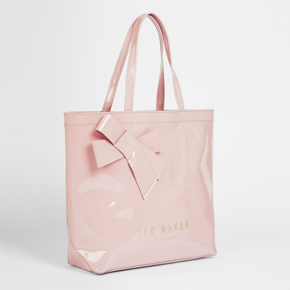 Ted Baker Womens Pink Nicon Knot Bow Large Icon Bag