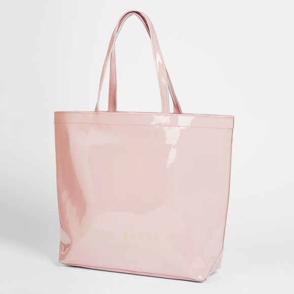 Ted Baker Womens Pink Nicon Knot Bow Large Icon Bag main image