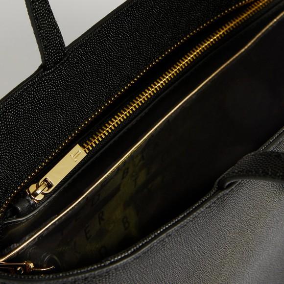 Ted Baker Womens Black Aveeda Bow Shopper Bag main image