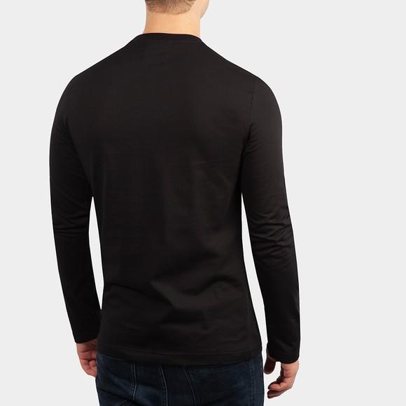 Emporio Armani Mens Black Small Crest Long Sleeve T Shirt main image