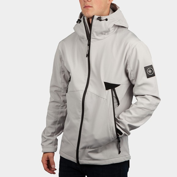 Marshall Artist Mens Grey Softshell Jacket