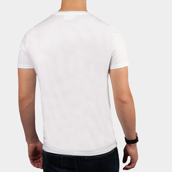 Lacoste Mens White TH6709 Pima Cotton T-Shirt main image