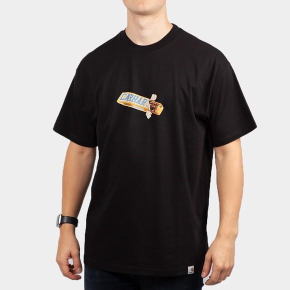Carhartt WIP Mens Black Chocolate Bar T-Shirt
