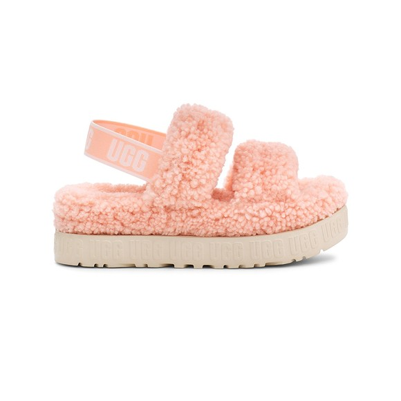 Ugg Womens Pink Oh Fluffita Slide