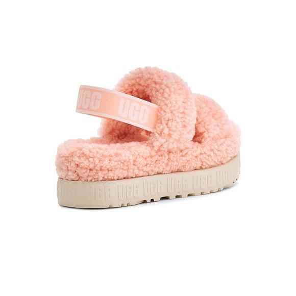 Ugg Womens Pink Oh Fluffita Slide main image