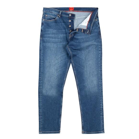 HUGO Mens Blue 634 Tapered Jean