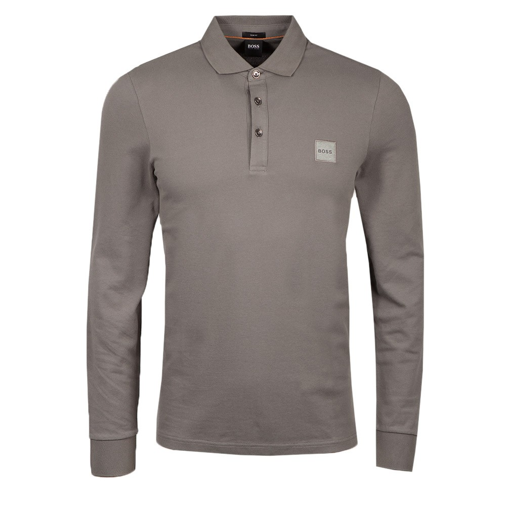 Casual Passerby 1 Long Sleeve Polo Shirt