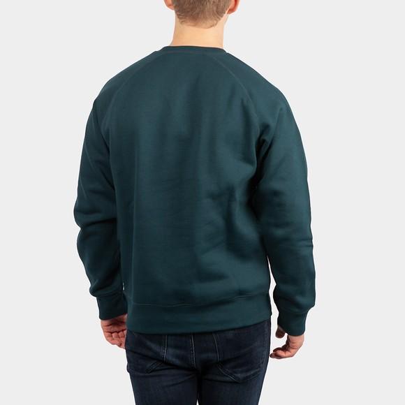 Carhartt WIP Mens Green Chase Sweatshirt main image