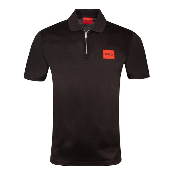 HUGO Mens Black Deresom Polo Shirt