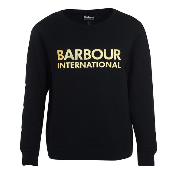 Barbour International Womens Black Reine Sweatshirt