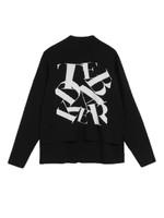 Izbelle Funnel Neck Branded Sweatshirt