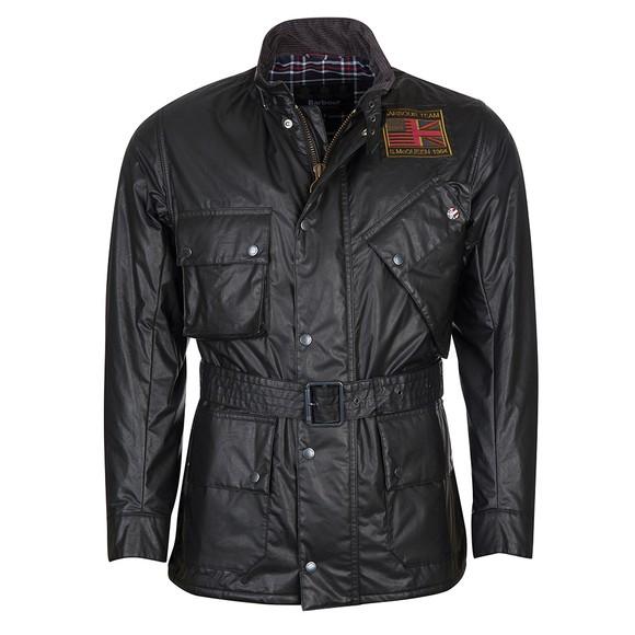 Barbour Int. Steve McQueen Mens Black Vintage Joshua A7 Casual Jacket