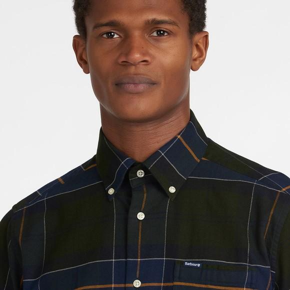 Barbour Lifestyle Mens Green Lutsleigh Shirt main image