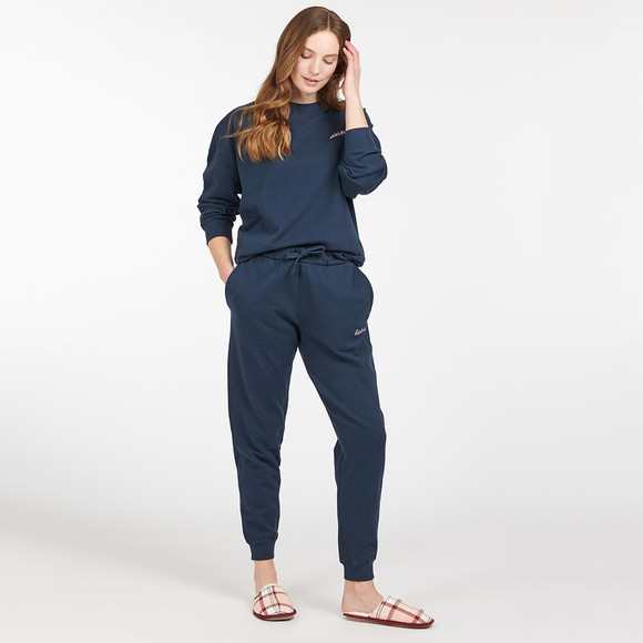 Barbour Lifestyle Womens Blue Rosie Lounge Jogger main image