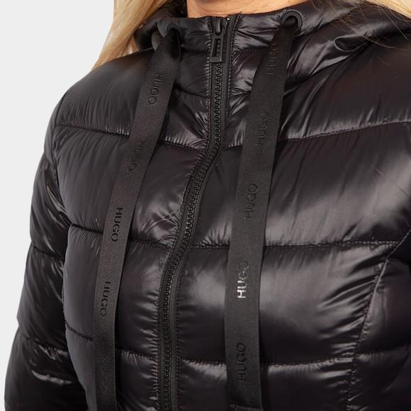 HUGO Womens Black Famandra Jacket main image
