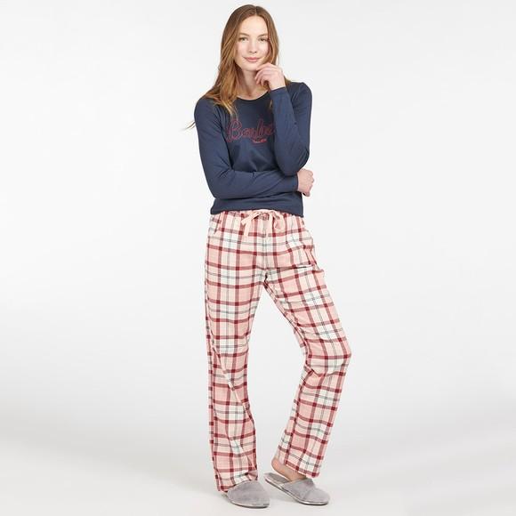 Barbour Lifestyle Womens Blue Phoebe Pyjama Set