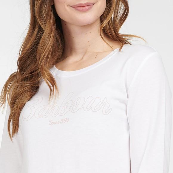 Barbour Lifestyle Womens White Phoebe Pyjama Set main image