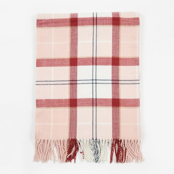 Barbour Lifestyle Womens Pink Hailes Wrap main image
