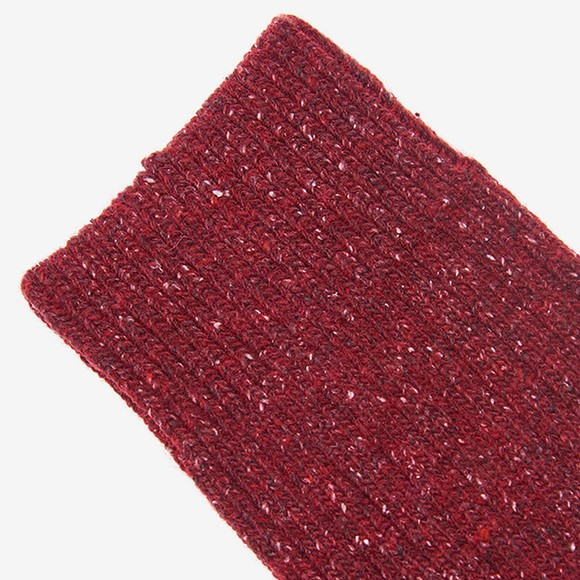 Barbour Lifestyle Mens Red Houghton Sock main image