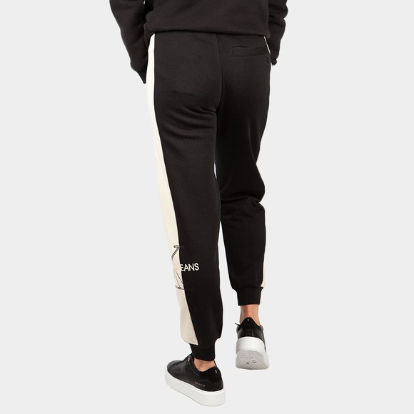Calvin Klein Jeans Womens Black Monogram Blocking Jogger main image