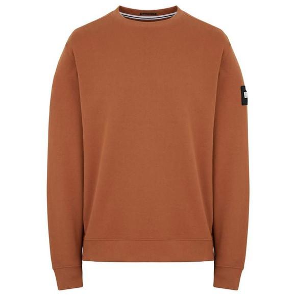 Weekend Offender Mens Red F Bomb Sweatshirt