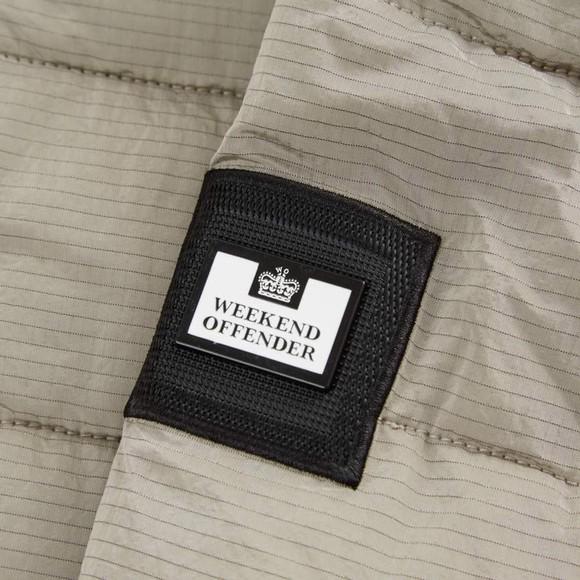 Weekend Offender Mens Grey La Guardai Jacket main image
