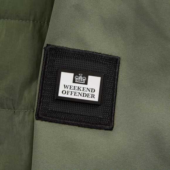Weekend Offender Mens Green Conor Jacket main image