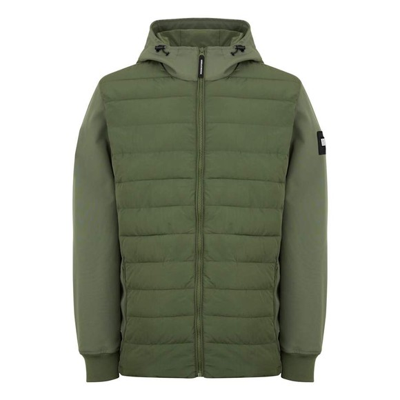 Weekend Offender Mens Green Conor Jacket