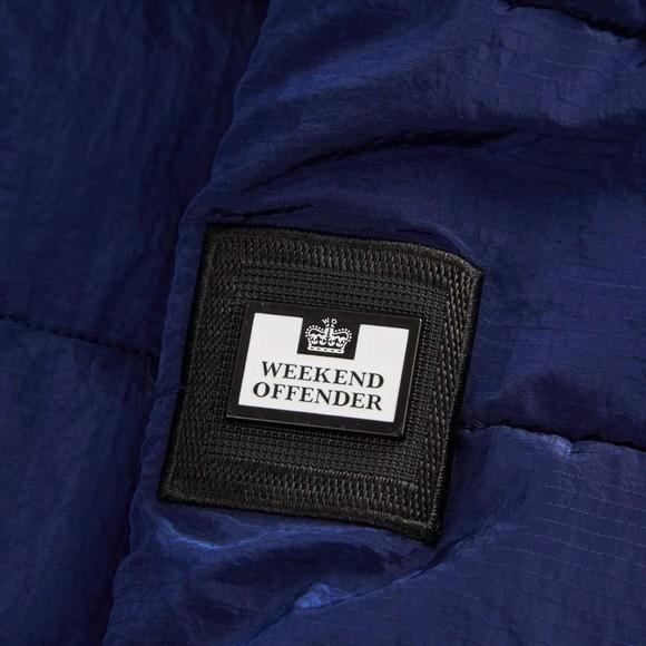 Weekend Offender Mens Blue La Guardai Jacket main image