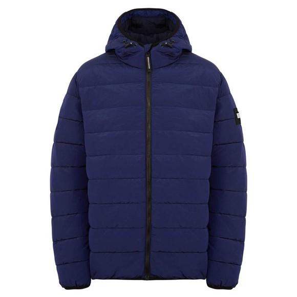 Weekend Offender Mens Blue La Guardai Jacket