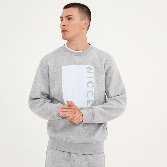 Nicce Mens Grey Cube Sweatshirt