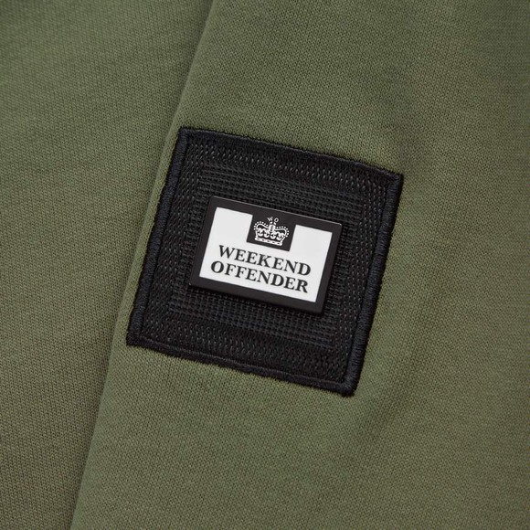 Weekend Offender Mens Green F Bomb Sweatshirt