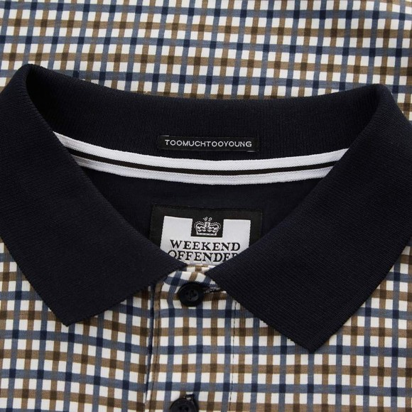 Weekend Offender Mens Multicoloured Felder Polo Shirt main image
