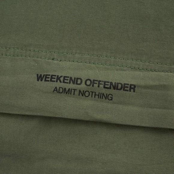 Weekend Offender Mens Beige Ortega Overhead Jacket main image