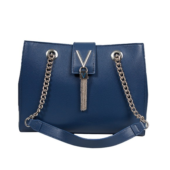 Valentino Bags Womens Blue Divina Tote main image
