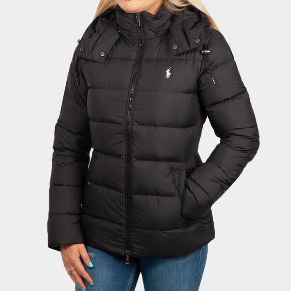 Polo Ralph Lauren Womens Black Belmont Down Jacket
