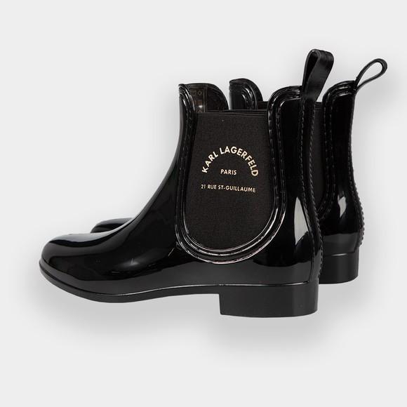 Karl Lagerfeld Womens Black Kalosh II Ankle Boot main image