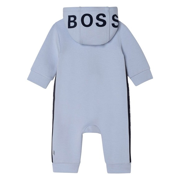BOSS Baby Boys Blue J94297 Hooded All In One