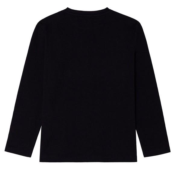 BOSS Boys Black J25L64 Long Sleeve T Shirt main image