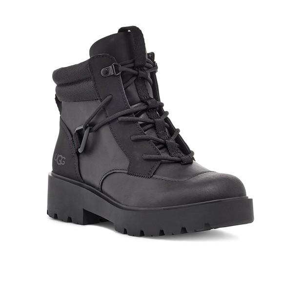 Ugg Womens Black Tioga Waterproof Hiker Boot