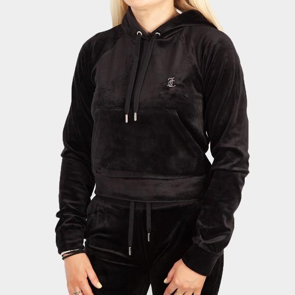 Juicy Couture Womens Black Sally Hoody main image