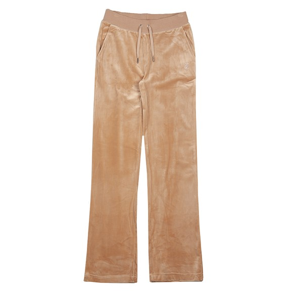 Juicy Couture Womens Brown Delray Diamante Track Pant main image