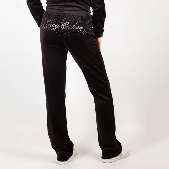 Juicy Couture Womens Black Tina Scatter Track Pant main image