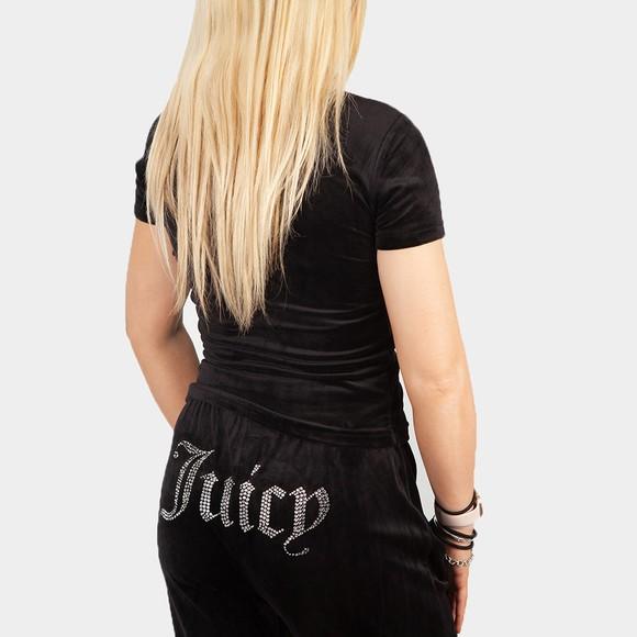 Juicy Couture Womens Black Taylor T Shirt main image