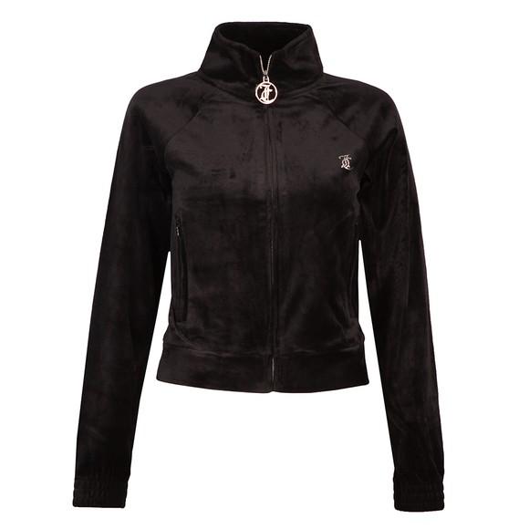 Juicy Couture Womens Black Tanya Track Top main image