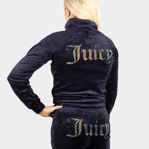 Juicy Couture Womens Blue Tanya Track Top main image