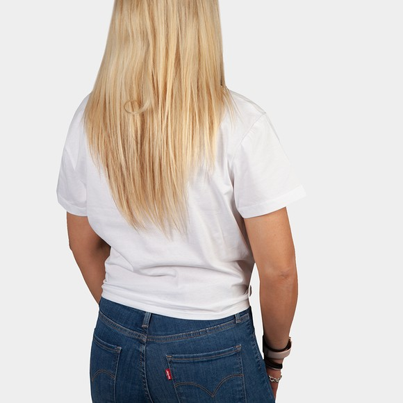 Calvin Klein Jeans Womens White Knotted T Shirt main image